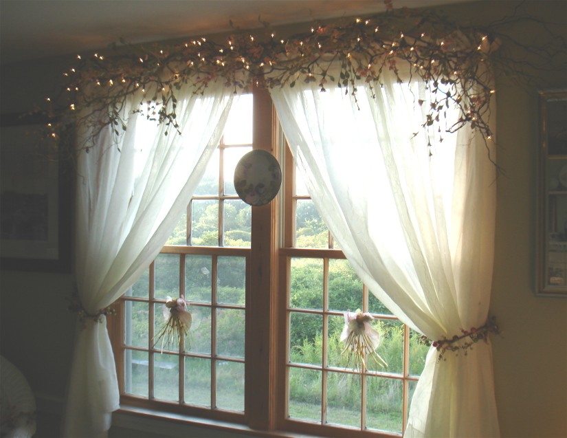 20 creative window treatments thethings Window treatment ideas to make