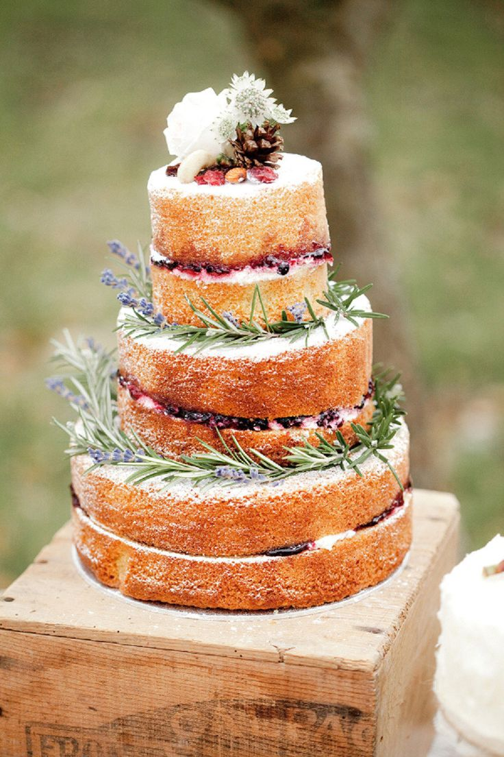 Naked Wedding Cakes   Cakes, Favours & Guest Books