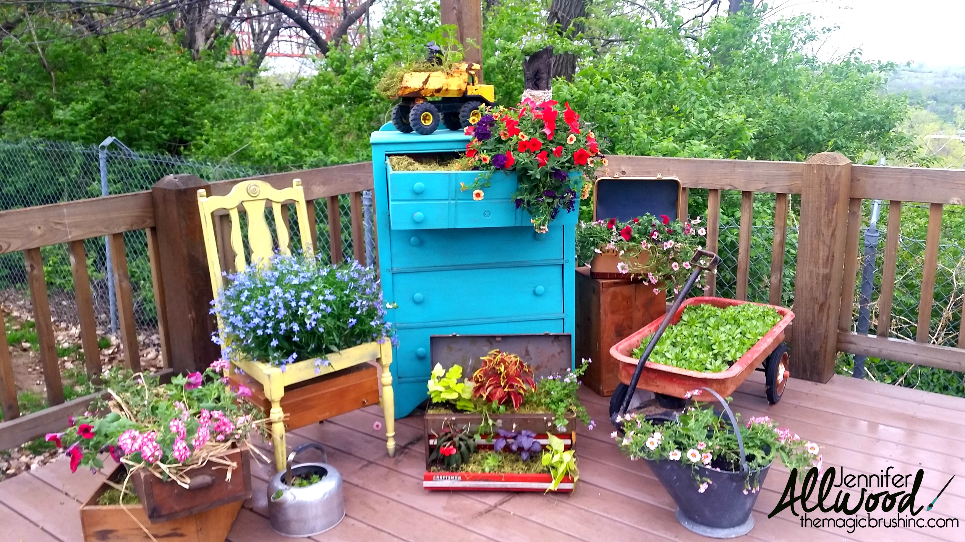 10 great diy garden ideas you have to know thethings - Unique container gardening ideas ...