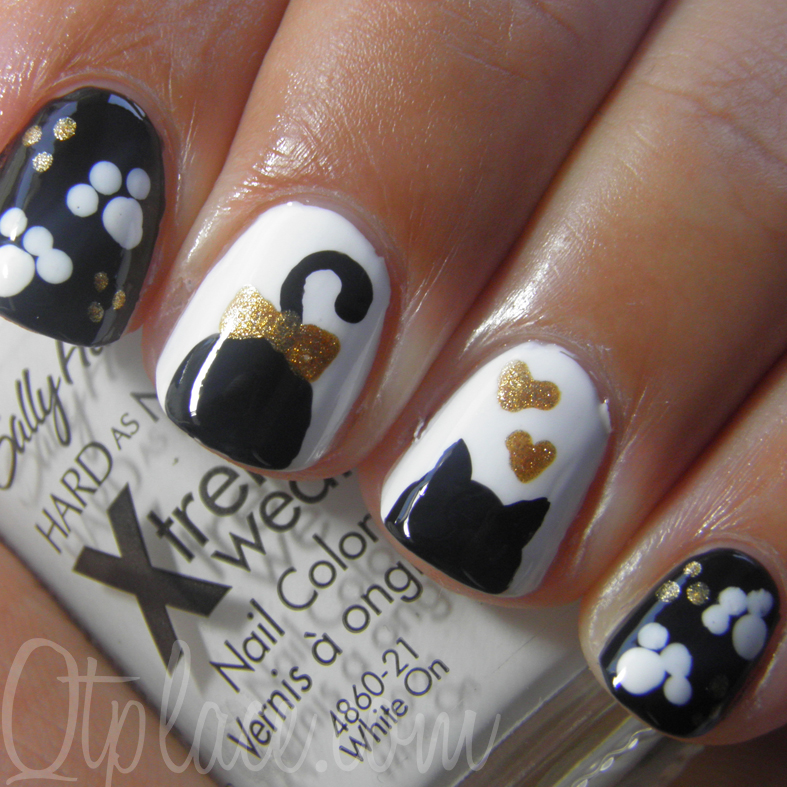 Adorable Nail Art: 20 Purrfect Nail Art Ideas For The Proud Cat Lady