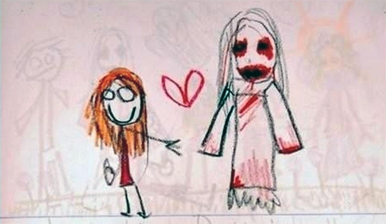 20 Times Kids' Drawings Were Creepy AF - TheThings