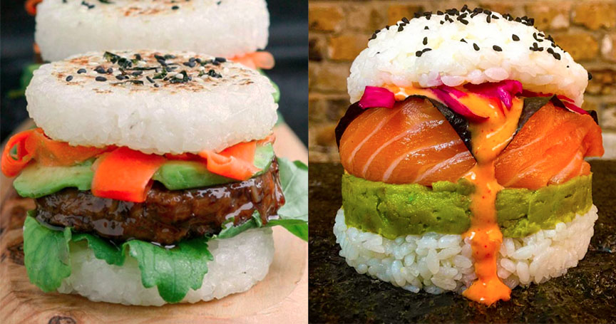 Check Out These Amazing Sushi Burgers That Are Taking Over