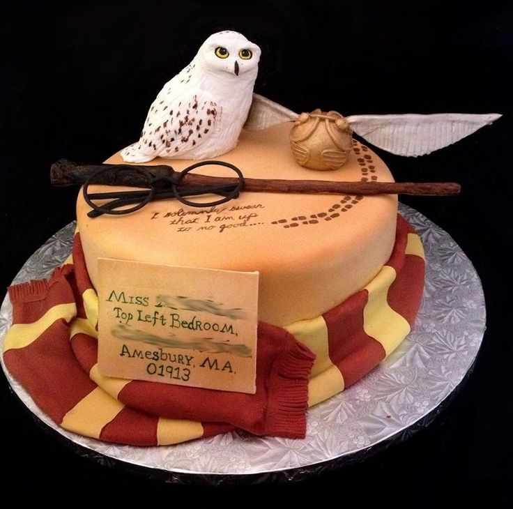 Cake Designs Harry Potter : 15 Jaw-Droppingly Gorgeous Harry Potter-Themed Cakes ...