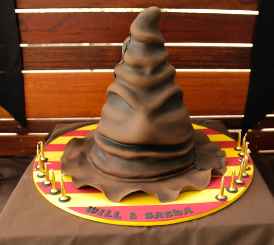 Harry Potter Sorting Hat Cake Ideas