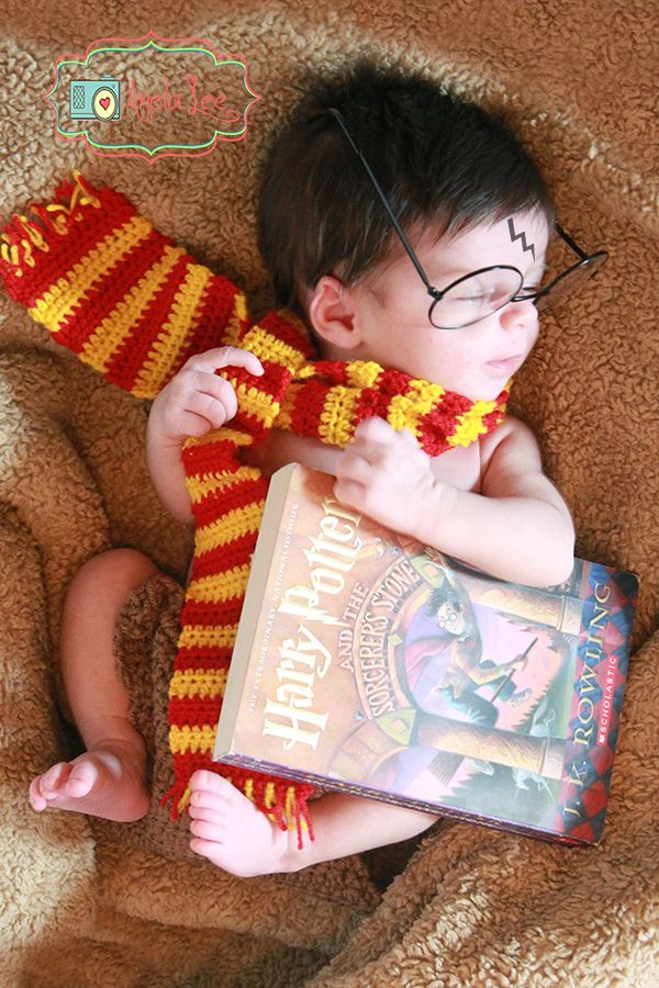 25 Harry Potter Themed Newborn Photoshoots That Will Leave