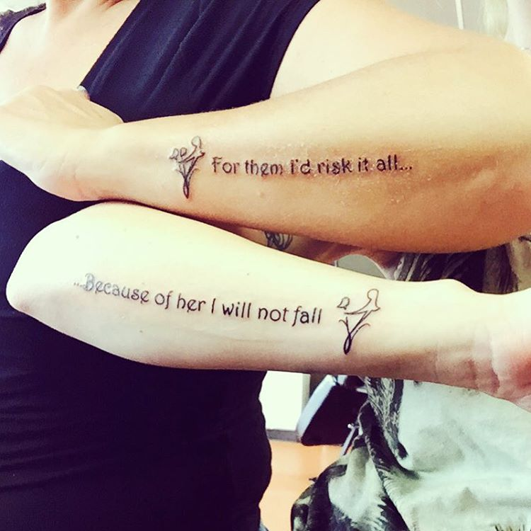 Best 25 Mom Tattoo Quotes Ideas On Pinterest: 20 Adorable Mother-Daughter Tattoos Pt. 2