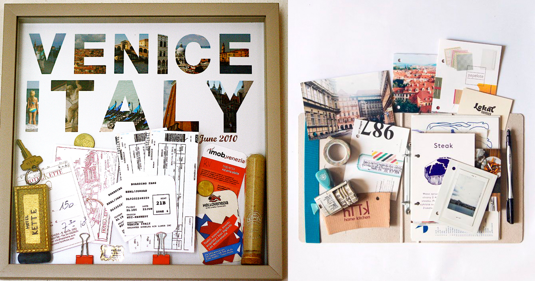 15 cute diy ways to display your travel souvenirs for Cute display pictures