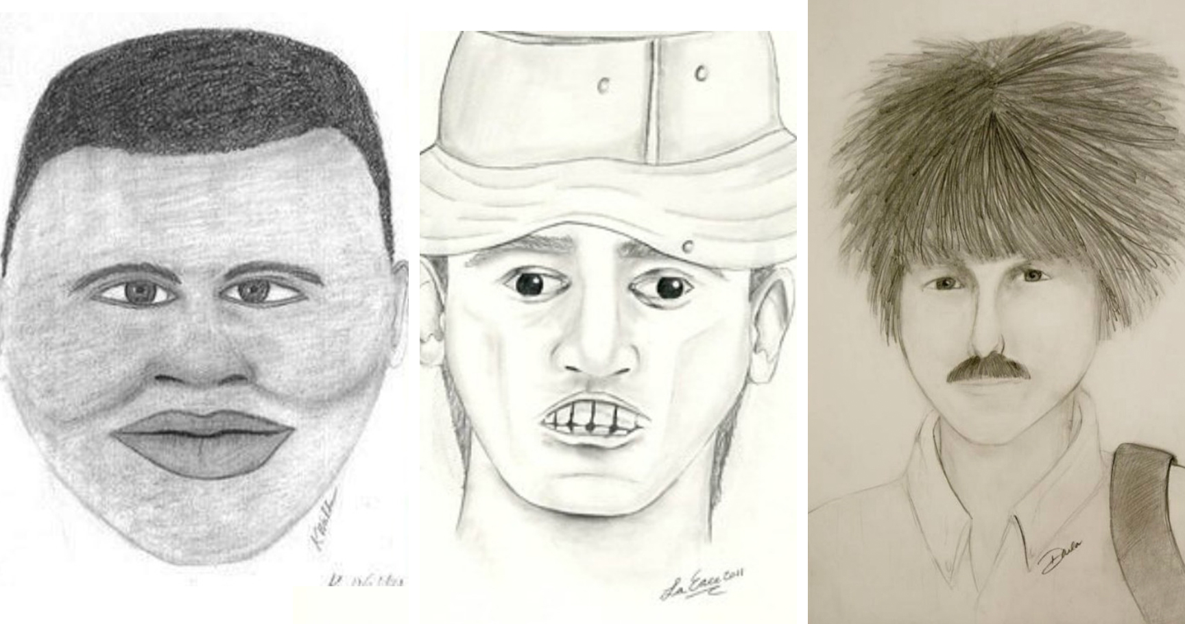 15 Of The Worst Police Sketches In Existence