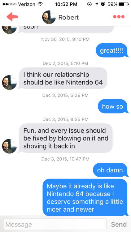 Tinder is not a dating site