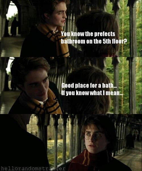 Share funny harry potter meme something is