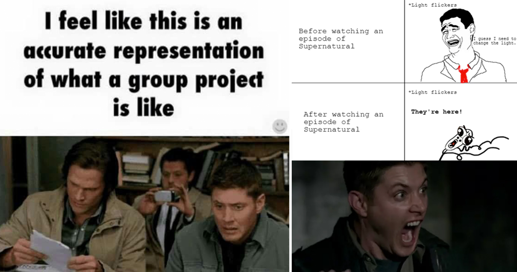 15 supernatural memes that will make any fan rotf with