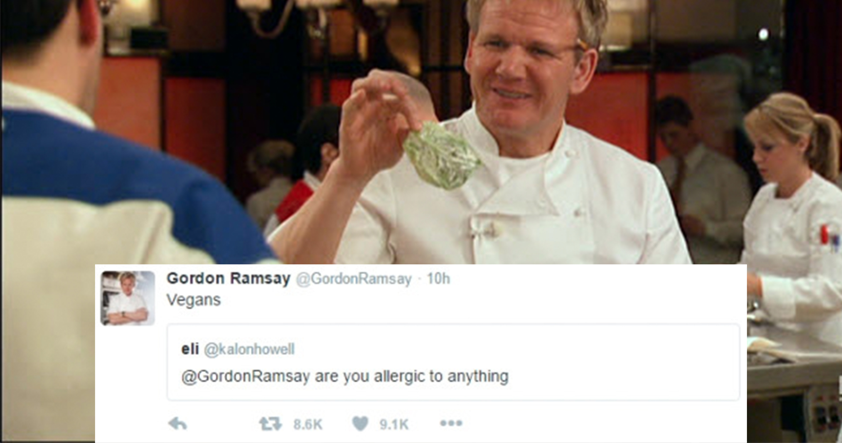 15 Savage Times Gordon Ramsay Roasted Hopeful Chefs Thethings