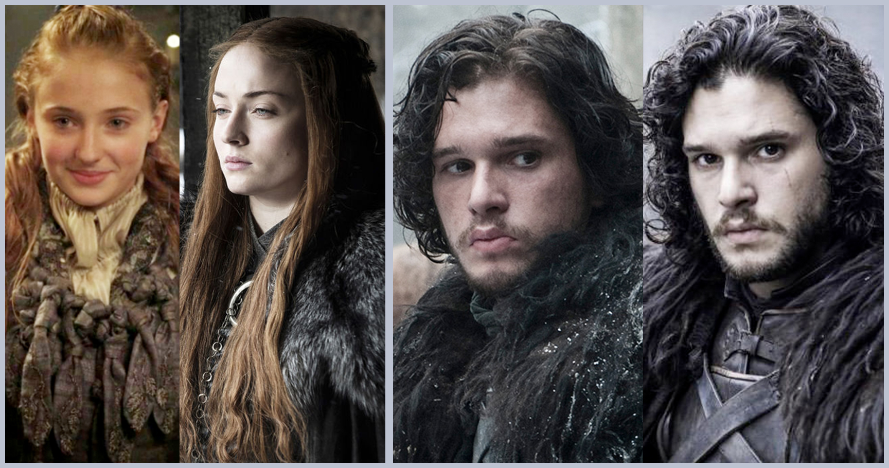 Incredible Game Of Thrones Cast Member Evolutions