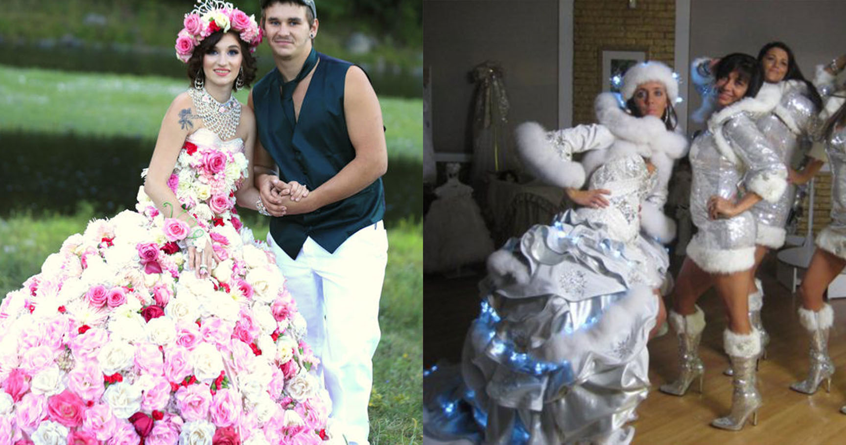 Ridiculous Dresses From My Big Fat American Gypsy Wedding