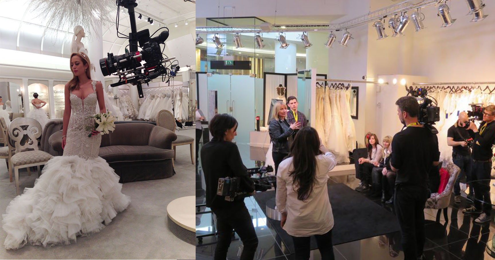 Behind the scenes secrets from say yes to the dress ombrellifo Gallery