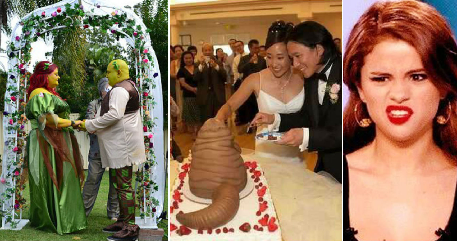 15 Bizarre Wedding Photos That Make Us Want To Stay Single Forever