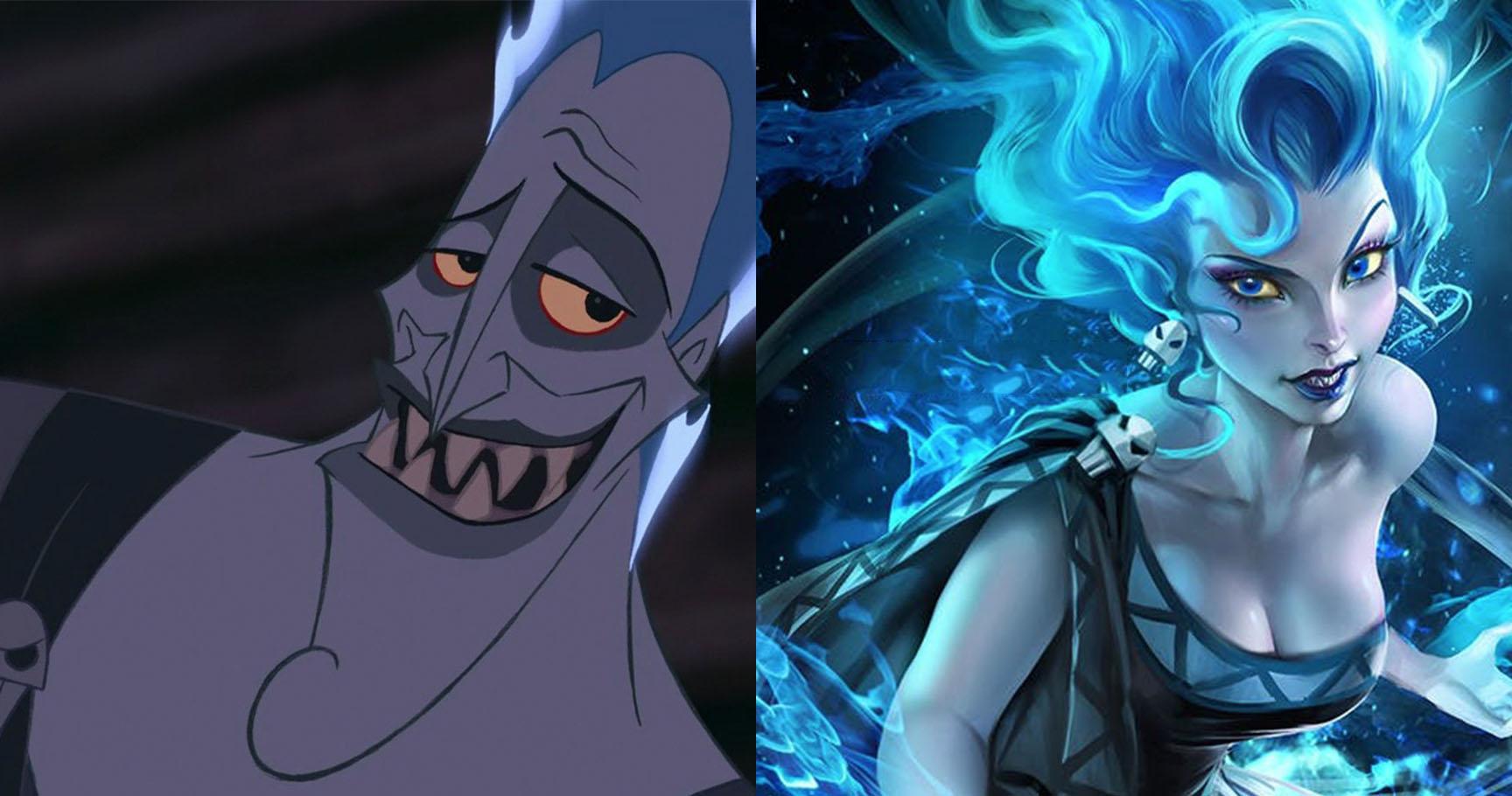 Disney Villains Reimagined As Princesses